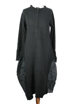 Rundholz Coat Black