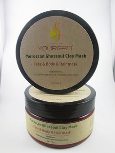 Moroccan ghassoul power clay mask from company YOURAGN. الغاسول المغربي لترطيب و تصفية الوجه و الجسم مقدم لكم من شركة YOURGAN المغربية. #argan #arganoil #bio #organic