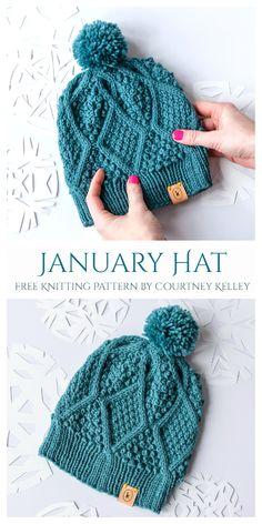 Beanie Knitting Patterns Free, Beanie Pattern Free, Knit Headband Pattern, Easy Knitting, Loom Knitting, Crochet Pattern, All Free Knitting, Easy Knit Hat, Beginner Knitting