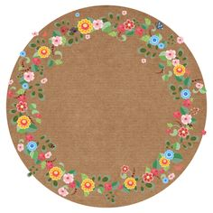 Cloud Party, Circle Borders, Frame Background, Round Labels, Classroom Rules, Flower Art, Diy And Crafts, Clip Art, Kids Rugs