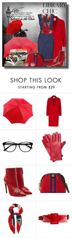 """Work Hard, Play Hard: Finals Season"" by irene-sousa2 ❤ liked on Polyvore featuring Anna Sui, River Island, EyeBuyDirect.com, House of Fraser, Isotoner, Alexander McQueen, Gucci, Chanel, Alice + Olivia and WALL"