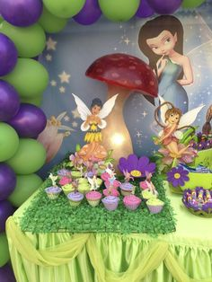 """Photo 24 of 24: Tinkerbell & Fairies / Birthday """"Dhabya 3rd party"""" 