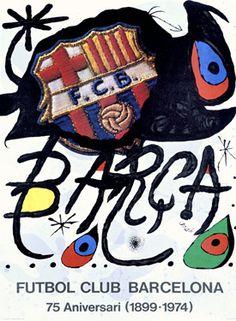 Image Result For Joan Miro Futbol Club Barcelona