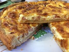 Lasagna, Quiche, Food And Drink, Cooking Recipes, Breakfast, Ethnic Recipes, Cross Stitch, Recipes, Kitchens