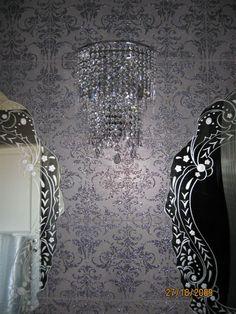 Pin by lorenzo poggiali on pitture pavimenti rivestimenti pinterest furniture design - Piastrelle con brillantini ...
