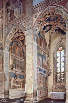 Santa Croce Florence Giotto Bardi Peruzzi Chapels