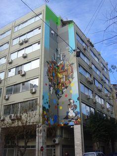 Athens street art.mural by Same.84 and Ap,Set. Urban art.( 0002/sm#)