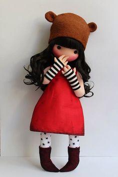 Милые куколки в стиле Сьюзен Вулкотт от Fidelina Store. Подборка выкройки.
