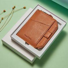 Leather Men, Leather Wallet, Rfid Wallet, Minimalist Fashion, Money Clip, Card Holder, Zipper, Hipster Stuff, Money Clips