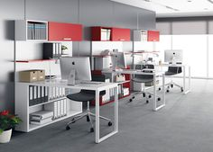 Home office is a very important idea for you who work at home. So, you don't need to go outside to work, because your home will be just like you office too Small Office Decor, Small Office Design, Office Table Design, Modern Office Decor, Office Furniture Design, Office Interior Design, Office Interiors, Professional Office Decor, Office Designs