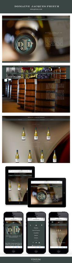 Une palette d'appellations prestigieuses en Côte de Nuits et Côte de Beaune dont trois Clos Monopoles : redécouvrez l'une des plus rares mosaïques de terroirs de la Bourgogne sur le nouveau site du Domaine Jacques Prieur. Labruyère Family #jacquesprieur #wine #webdesign  #vin www.prieur.com