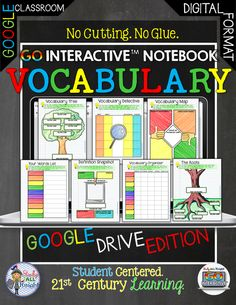 GO Interactive Notebook Google Edition Vocabulary Digital Interactive Notebook ($)