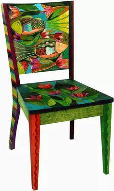 Stuhl gestalten