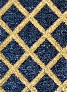 Saxon 2222 Navy Upholstery Fabric: Chenille tapestry upholstery fabric by the yard for elegant accent pillows, upholstering furniture, headboards and ottomans. Blue Tapestry, Tapestry Fabric, Chenille Fabric, Jacquard Fabric, Drapery Fabric, Fabric Art, Fabric Crafts, Reupholster Furniture, Upholstered Furniture