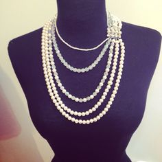 Liza korn's necklace with a vintage clasp Contact@liza-korn.com