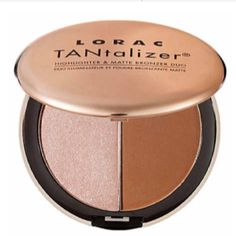 LORAC TANtalizer Highlighter and Matte Bronzer Duo.