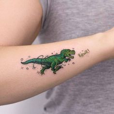 Origami T Rex Tattoo . Lovely origami T Rex Tattoo . origami Dinosaur Tattoo by Matt C Ellis Tatoo Mini Tattoos, Tattoos 3d, Dream Tattoos, Little Tattoos, Unique Tattoos, Body Art Tattoos, Small Tattoos, Sleeve Tattoos, Tatoos