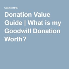 Here's What Happens To Your Goodwill Donations