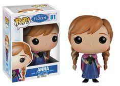 La figurine pop Anna en détails : où acheter ou trouver la figurine Anna de la collection La Reine des neiges (Frozen).