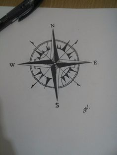 Compass. by pandaragee on @DeviantArt