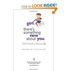 Written by two female mothers/doctors this shows great family support as well as a parent involved in their teens sexual education. This book has 'stories' from girls points of view about puberty situations and about what girls will need to learn about growing up and how to deal with it without feeling embarrassed. #Puberty #period #girls #growing up #hair #sex #tampon #boys  #development #support #mothers #education