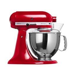 KitchenAid Artisan robotgép, piros színű
