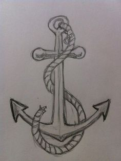 awesome How to Draw an Anchor