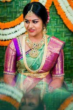 34 Ideas For Wedding Dresses Short Bride Simple - Wedding Dresses 2019 Best Brindal Wedding Saree Blouse Designs, Pattu Saree Blouse Designs, Saree Wedding, Sari Blouse, Wedding Dresses Short Bride, Dress Wedding, Wedding Bridesmaids, Trendy Wedding, Wedding Ideas