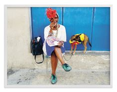"""""""Carlotta Cuba"""" - Art Print by Peter Calvin in beautiful frame options and a variety of sizes."""