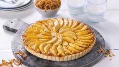 Eple- og brunostpai Apple Pie, Tin, Kitchen, Desserts, Cookware, Food, Tailgate Desserts, Diy Kitchen Appliances, Cooking