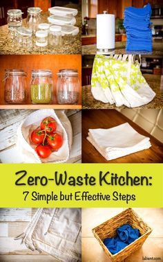 Ready to transform your kitchen and go zero-waste? Here are 7 changes that I've made in my own kitchen that helped me eliminate 80% of the waste.