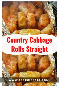 Country Cabbage Rolls Straight – Page 2 – One Of Recipe Vegetable Side Dishes, Vegetable Recipes, Meat Recipes, Vegetarian Recipes, Dinner Recipes, Dinner Ideas, Cabage Rolls, Canned Tomato Soup, Tomato Juice