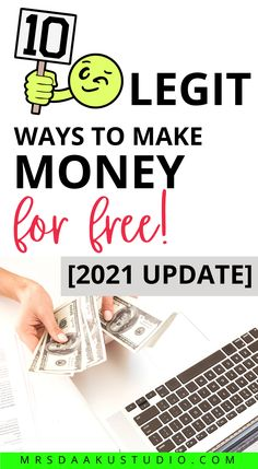 Make extra money fast and get free money now. These easy online jobs will help you make money on the side while at home or even sitting on your couch. Learn how to work from home and earn money pretty quickly! #makemoney #sidehustles #makemoneyfast #easyonlinejobs Free Money Now, I Get Money, Make Money From Home, Way To Make Money, Easy Online Jobs, Earn Money Online Fast, Jobs For Teens, Extra Money, Couch