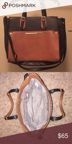Selling this Like new Steve Madden leather purse extra strap in my Poshmark closet! My username is: bdubs921. #shopmycloset #poshmark #fashion #shopping #style #forsale #Steve Madden #Handbags
