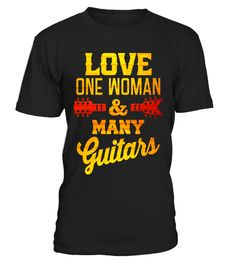 """# Funny Guitarist T-shirt Love One Woman And Many Guitars Tee .  Special Offer, not available in shops      Comes in a variety of styles and colours      Buy yours now before it is too late!      Secured payment via Visa / Mastercard / Amex / PayPal      How to place an order            Choose the model from the drop-down menu      Click on """"Buy it now""""      Choose the size and the quantity      Add your delivery address and bank details      And that's it!      Tags: A funny guitar humor t…"""