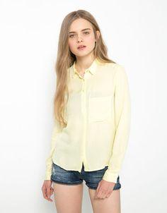 Bershka México - Camisa BSK pliegue espalda