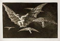 Prado - Los Disparates (1864) - No. 13 - Modo de volar - Los disparates - Wikipedia, the free encyclopedia