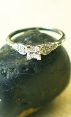 This ring was inspired by two hands reaching for each other and holding on to love.