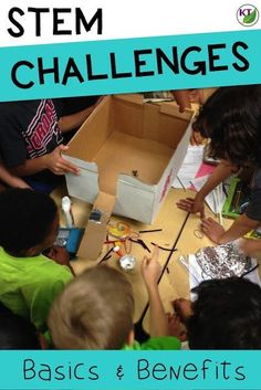 Wondering how - or even if - you should be doing STEM challenges in your class? Click or save for later to read about the basics and benefits of STEM challenges.