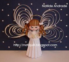 *    domingo, 6 de dezembro de 2009  Anjinho / Little Angel  Que este Anjinho, traga muita Luz e Paz para seu Natal!!    This Little Angel, bring much Light and Peace for your Christmas!!!