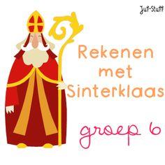 Juf-Stuff: Rekenen met Sinterklaas - groep 6