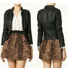 Das mulheres à moda Leopard cintura elástica saia Com Zipper Side WF-50211 US $7.79