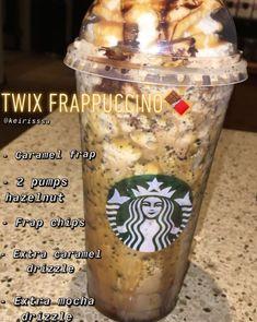 Bebidas Do Starbucks, Healthy Starbucks Drinks, Starbucks Secret Menu Drinks, Starbucks Frappuccino, Yummy Drinks, Starbucks Hacks, Starbucks Coffee, Coffee Drink Recipes, Coffee Drinks