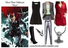 thor inspired outfit:)