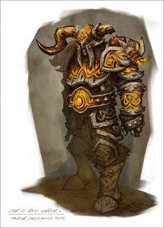 Raid Warrior Armor Art - World of Warcraft: Wrath of the Lich King Art Gallery World Of Warcraft, Art Warcraft, Fantasy Armor, Medieval Fantasy, Dark Fantasy, Fantasy Weapons, Final Fantasy, Game Character Design, Character Art