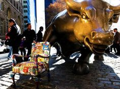 "Photography by Dominic Ronzo "" Dreaming of strength, power, and hope for the future of all American people "" ArutoDi Modica""sCharging bull , New York Stock exchange Hope For The Future, Africa Map, Past, Strength, Dreams, York, Chair, American, People"