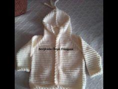 Kapşonlu Bebek Hırkası Tam Anlatımlı Videosu