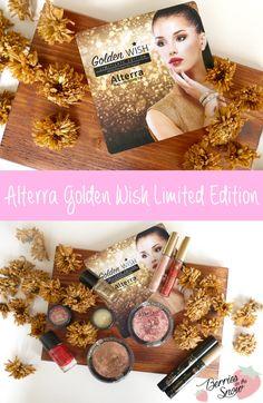 Review: Alterra Golden Wish Limited Edition #makeup #alterra