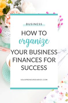 When you are starting a business, there is always something that needs to be done and it's easy to put off finances for another day. And that's how chaos happens. Stay on top of your small business finances with these seven simple tips. Successful Business Tips, Small Business Resources, Business Advice, Business Entrepreneur, Business Planning, What Is Business Finance, Business Motivation, Starting A Business, Small Business Accounting