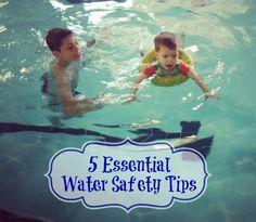 5 Essential Water Safety Tips via www.jmanandmillerbug.com